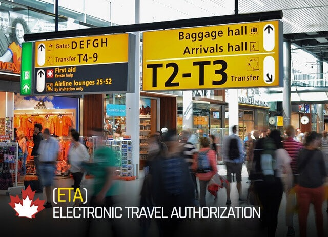 ETA Electronic Travel Authorization Canada