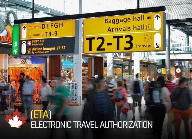 ETA Electronic Travel Authorization Canada