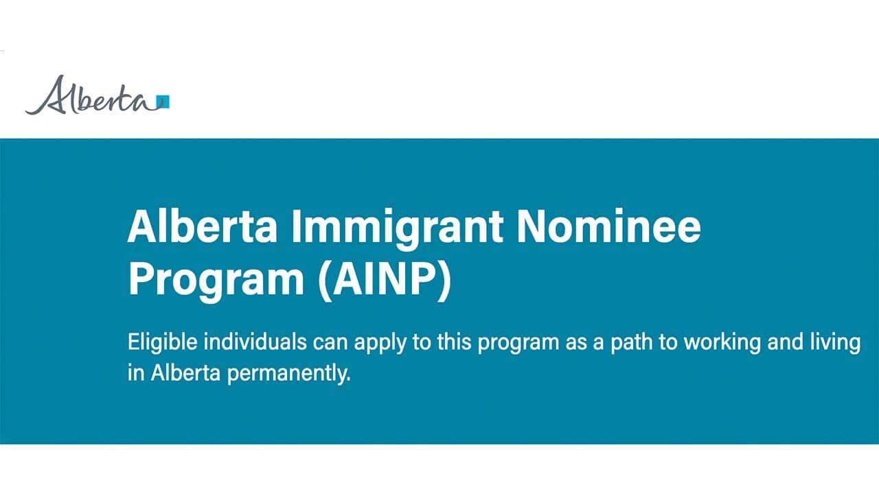Imigração e Covid-19 Alberta