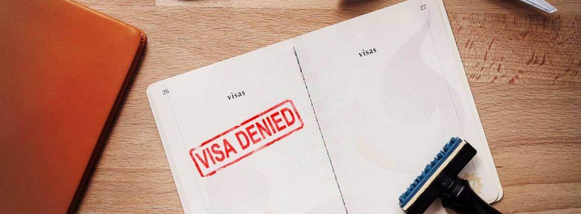 Visto Negado para o Canadá